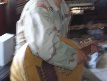 Me Playing Mandolin
