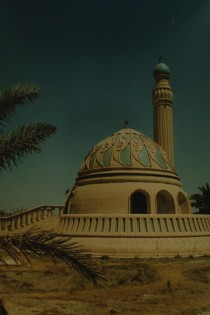 A mosque in the BIAP area.