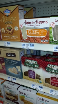 For those of us with gluten intolerance, there are so many delicious crackers to choose from now!